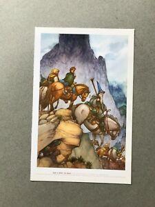The Hobbit David Wenzel  French Print Delcourt Rare