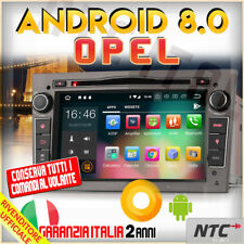 "AUTORADIO 8"" Android 8.0 DVD Octa-Core 2GB 32GB OPEL ASTRA H ANTARA CORSA VIV..."