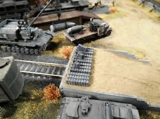 HO Roco Minitank Parts Custom Detailed Weathered Jerry Cans Set of 4 #DP38