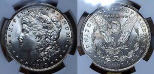 1900 O Morgan Silver Dollar $1 NGC MS64