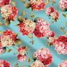 """Verkauft 1 Yard 44 """"Wide Floral Cotton Dekorationsstoff Polster Akzente Tuch"""