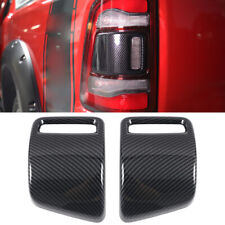 Carbon Accessories Rear Tail Light Tail Lamp Cover For Dodge Ram 1500 2019-2021