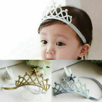 Baby Toddler Kids Girl Infant Hair Accessory Princess-Crown Hairba Headband J1J2