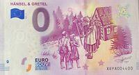 BILLET 0  EURO HANSEL ET GRETEL ALLEMAGNE 2019   NUMERO 4400