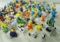 New Cute Lots 2-3cm Pokemon Pikachu Mini Pearl Figures Toy 144 PCS
