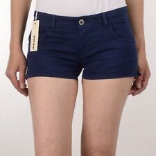 """Diesel Womens Navy Blue 27"""" S-Trapi Calzoncini Hipster Shorts BNWT XS S RRP £129"""