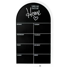 Large Black/White Weekly Memo Message Chalkboard