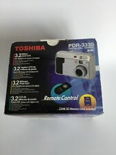 New Vintage Toshiba PDR-3330 Digital Still Camera 3.2 Million Pixel CCD  6X Zoom