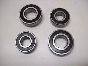 replacement bearings to fit  DAXARA/ Erde Trailer102/122/107/127   2 hubs