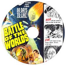 Battle of the Worlds - Claude Raines,Bill Carter - Sci-Fi, Disaster - 1961 - DVD