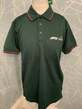 Formula 1 Polo Shirt Heineken Official Sponsor Grand Prix F1 BNWT Small