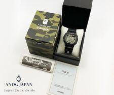 G-SHOCK BAPE A BATHING APE 2016 collaboration limited DW-5600 Green camo Japan