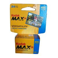 New Kodak Max Versatility 400 Film 24 Exposures 35mm Color 1 Roll Exp 07/2006
