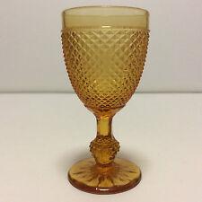 Baccarat H 13,5 cm verre à vin en cristal moulé circa 1840