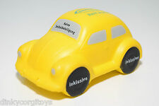 FOAM STRESS VW VOLKSWAGEN BEETLE KAFER SUNNY CARS RENT A SMILE INKLUSIVE YELLOW