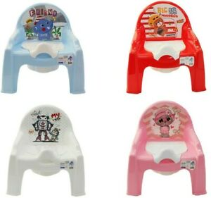 Baby Potty Chair Baby Training Potties For Boys Girls Pink & Blue Pastel Colours