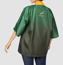 Asics Japan Limited SOUTH AFRICA NATIONAL RUGBY UNION TEAM HAPPI Jacket Size L
