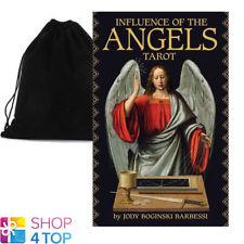 INFLUENCE OF THE ANGELS TAROT CARD DECK JODY BOGINSKI BARBESSI VELVET BAG NEW