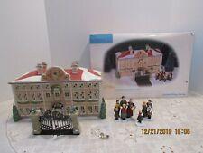 Dept 56 Alpine Village 56.56178 Von Trapp Villa Set Of 5 Read Gate Repaired