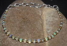 15 Crt Natural Ethiopian Welol Fire Opal Beads 2TO5Mm 6'' BRACEIETGemstone- 165k