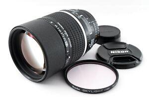 Nikon AF DC NIKKOR 135mm f/2 AF Lens W/Caps Excellent+++ Tested