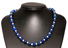 Collares y colgantes de joyería con gemas lapislázuli