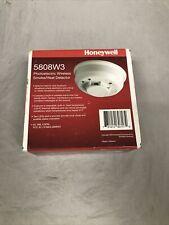 Honeywell Ademco 5808W3 Wireless Smoke &  Photoelectric Heat Detector