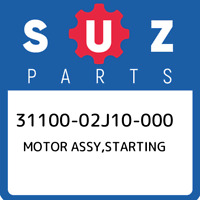 31100-02J10-000 Suzuki Motor assy,starting 3110002J10000, New Genuine OEM Part