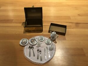 Hummel Tea set & Chest Perfect for American Girl Doll