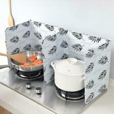 Folding Kitchen Cooking Oil Splash Screen Cover Stove Guard Anti Shield M9D7