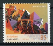 Germany 2019 MNH Microworld Palladium Chemical Element 1v Set Chemistry Stamps