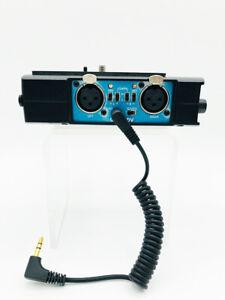 BeachTek DXA-HDV High-Performance Camcorder Adapter, 20 Hz - 20 kHz. XLR Adapter