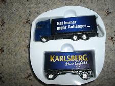 Brauerei Karlsberg Bier MAN HZ mit  1:87  von Weltbild Adventkalender