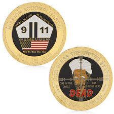 God Bless 911 The United States Attack Commemorative Coins Collectible Challenge