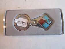 FANCIFUL FUN KEY RING - HEAVY CHROME - NEW - SEE PICS - TUB BMA