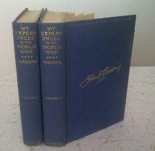My Experiences in the World War. by John J. Pershing - 2vols 1st eds. Fine EUC!