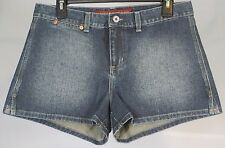 Guess Jeans dark wash distressed denim hot pants micro shorts ladies juniors 30