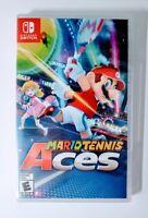 Mario Tennis Aces Nintendo Switch Sports Video Game 2018 Region Free New Sealed