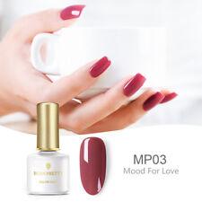 6 Ml BORN PRETTY UV Gel Nail Polish pálido color malva serie BP-MP03 el estado de ánimo para el amor