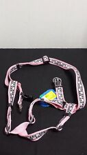 "Top Paw Adjustable Dog Harness, Nylon, Large, 26""-42"" Dog Pink Houndstooth"