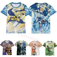 Women OTAKU Sword Art Online Anime T-Shirt Unisex Casual Short Sleeve Tee Shirt