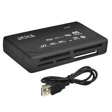 All in One Memory Card Reader USB External  HC Mini Micro M2 MMC XD CF Black