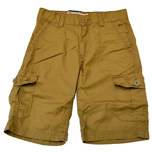 Levis Boys Cargo Shorts Casual Flat Front Bottoms Relaxed Fit Kids 5 6 8 10 14