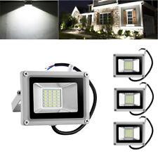 4X 20W LED Flood Light Cool White Outdoor Lighting Landscape Spotlights DC12V