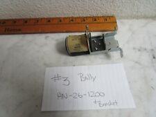 #3  Bally Pinball Game Coil AN-26-1200 Pop-Up & Bracket