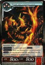 FOW TCG Belial, the Crimson Lord 1-074 R Valhalla Force of Will ENG