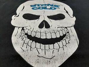 VTG Y2K WWE Steve Austin 3:16 Stone Cold SKULL Wrestling Tee T Shirt Black XL ??