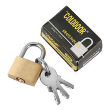 20mm mini lock luggage universal brass padlock home decoration hardware
