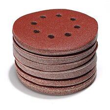 60 Stück Klett Schleifscheiben 125 mm je 10x P40 P60 P80 P120 P180 P240 Exzenter