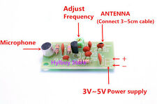 Wireless microphone Ham FM radio transmitter mini wireless module 3v~5v 91~103MH